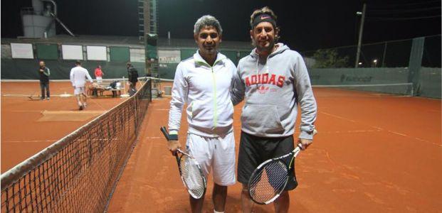 Davala ile Taşdemir Tenis kortlarında buluştu
