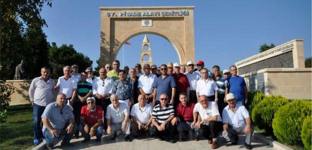 Derinceli Gaziler Çanakkale'yi gezdi