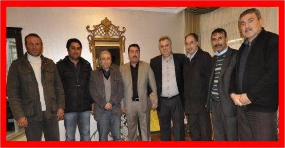 Derneklerden Başkan  Alemdar'a teşekkür
