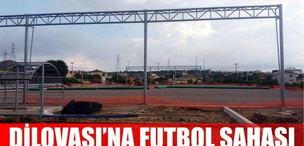 Dilovası Çerkeşli Köyü'ne futbol sahası