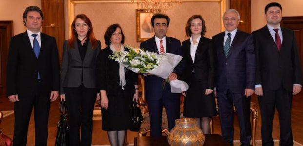 Eğitimcilerden Güzeloğlu'na ziyaret