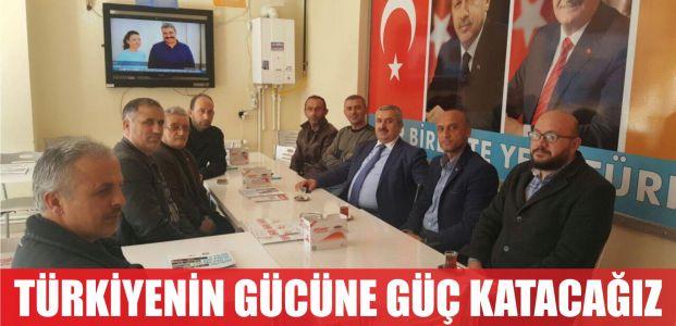 'Evet' ile Türkiye'nin gücüne güç katacağız