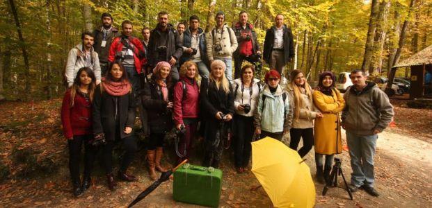 Fotoğrafçılar Yedigölleri fotoğrafladı
