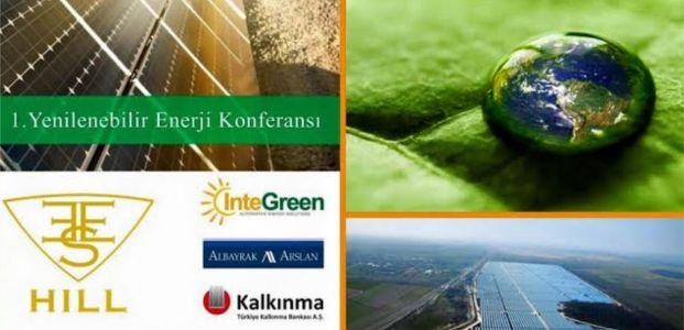 Gebze'de 1. yenilenebilir enerji konferansı düzenleniyor