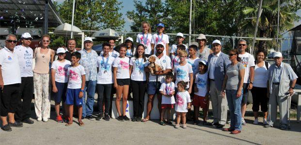 Geleneksel Açık Deniz 11. Ford Otosan Kupası Yelken Yarışları tamamlandı, kupalar sahiplerini buldu