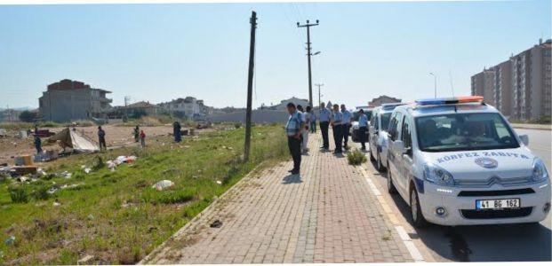 Göçebe Çadırları Körfez'de Kaldırıldı