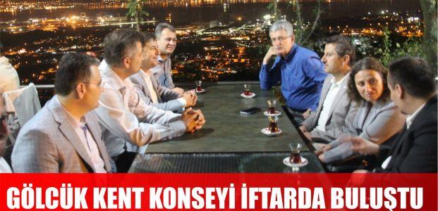 Gölcük kent konseyi iftar'da buluştu