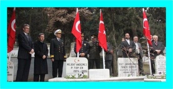 Gölcük Şehit Mezarlığı ziyaret edildi