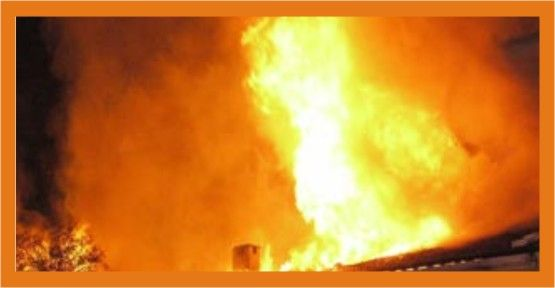 Gölcük'te araç yangını