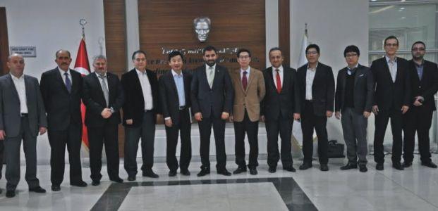 Güney Koreli yöneticilerle işbirliği toplantısı