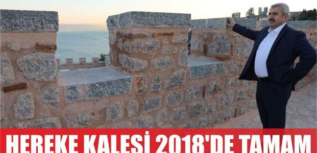 Hereke Kalesi 2018'de tamam