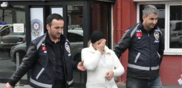 Hırsızlık İçin Eve Giren Hamile Kadın Yakalandı