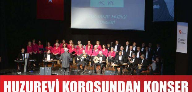Huzurevi korosundan muhteşem konser