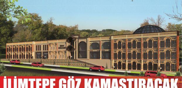 İlimtepe Kültür Merkezi göz kamaştırıyor