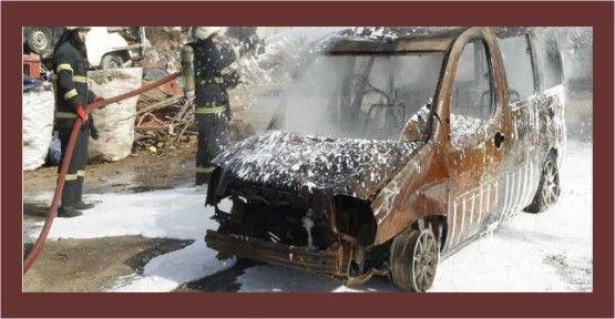 İtfaiye'den sanayide araç yangını tatbikatı