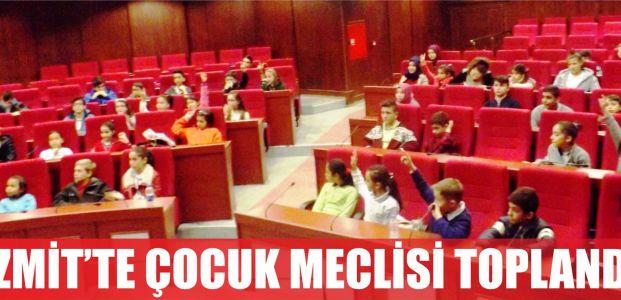 İzmit'te çocuk meclisi toplandı