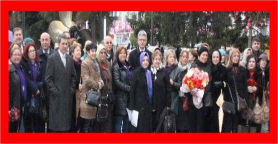 Kadınlar Günü Anıtpark' ta Törenle Kutlandı