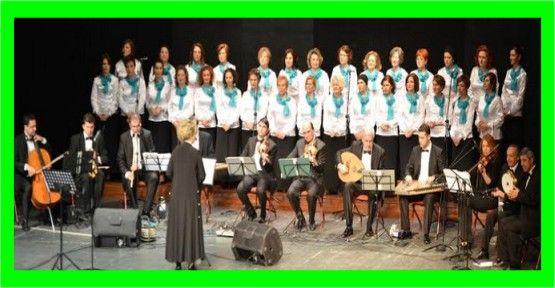 Kadınlar Korosu'ndan muhteşem 8 Mart konseri