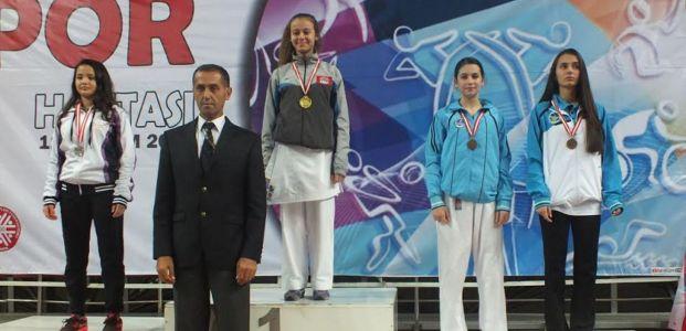 Kağıtsporlu Karatecilerin Serdivan'da ki  büyük başarısı