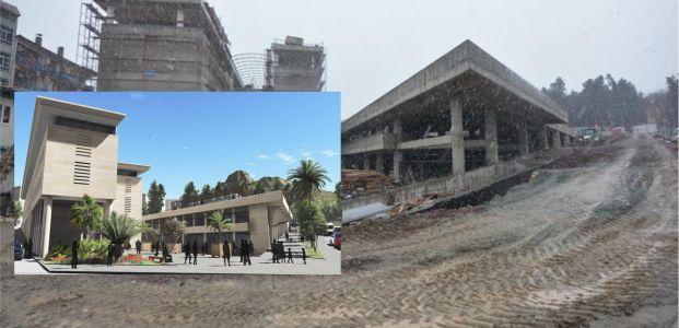 Karamürsel kent meydanı şekilleniyor