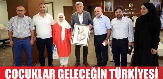 """Karaosmanoğlu, """"Çocuklarımız geleceğin Türkiye'sini temsil ediyor"""""""