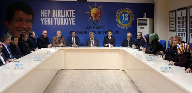 """Karaosmanoğlu, """"Türk-Kürt  kardeşliğini asla bozamayacaklar"""""""