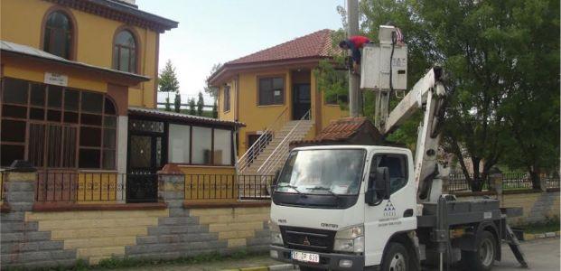 Kartepe'de kaçak baz istasyonları kaldırıldı