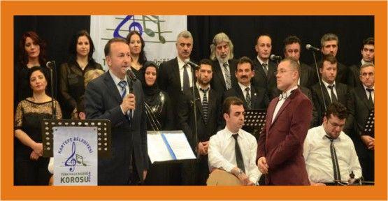 Kartepe'de Türk Halk Müziği Konseri