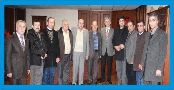 Kastamonulular Derneği Mehmet Ellibeş'i ziyaret etti