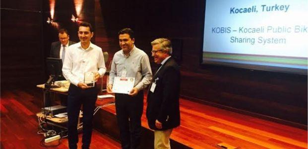 KOBİS'e Avrupa'dan yenilikçi ulaşım ödülü