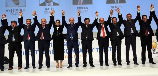 Kocaeli AK adayları Başbakan tanıttı