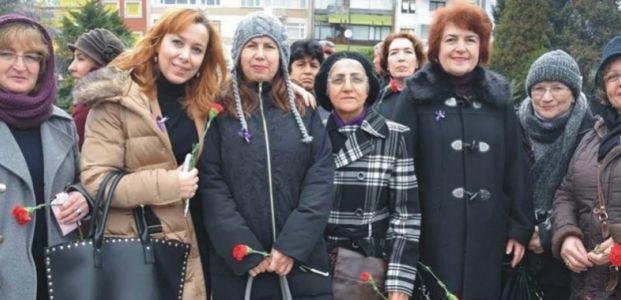 Kocaeli Kadın Kuruluşları Birliği ortak basın açıklaması