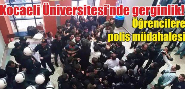 Kocaeli Üniversitesi'nde gerginlik!