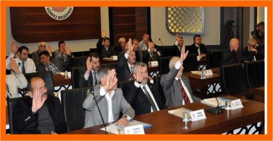 Körfez Belediye Meclisinde Tüm Maddelerde Oy Birliği