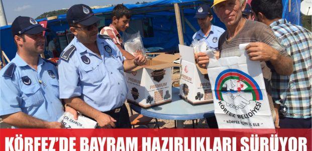 Körfez Belediyesi Bayram Hazırlıklarını Sürdürüyor