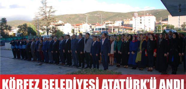 Körfez Belediyesi, Hizmet Binası Önünde Atatürk'ü Saygıyla Andı