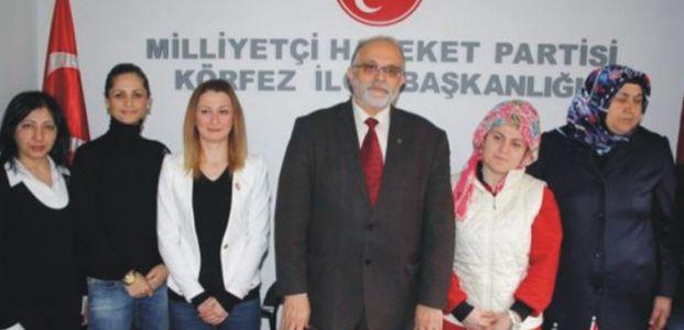 Körfez DYP ilçe başkanı MHP'ye geçti