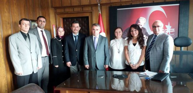 Körfez Fen Lisesi Proje için Romanya'da