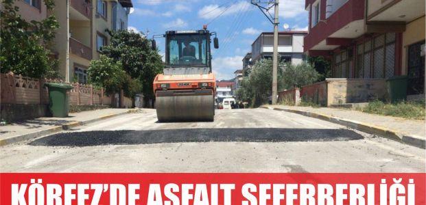 Körfez'de asfalt seferberliği