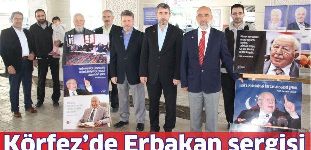 Körfez'de Erbakan sergisi