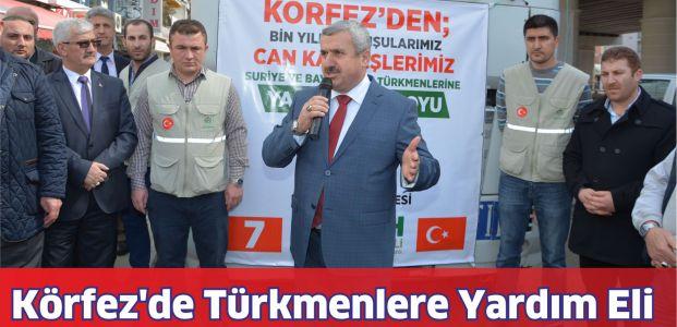 Körfez'de Türkmenlere Yardım Eli