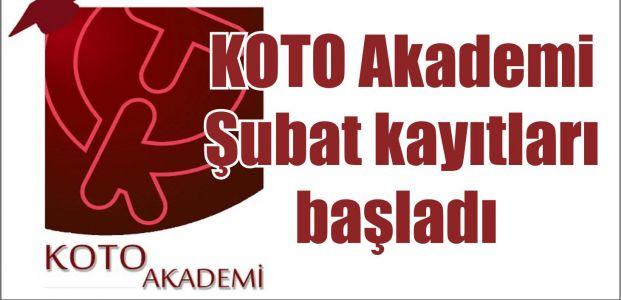 KOTO Akademi Şubat kayıtları başladı