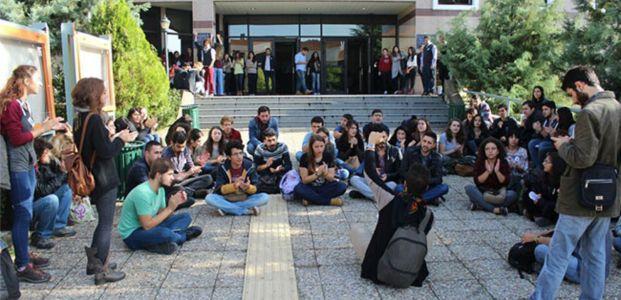 KOÜ'lü  öğrencilerden boykot