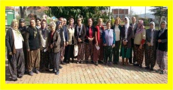 Köy kadınlarına mikro kredi anlatıldı
