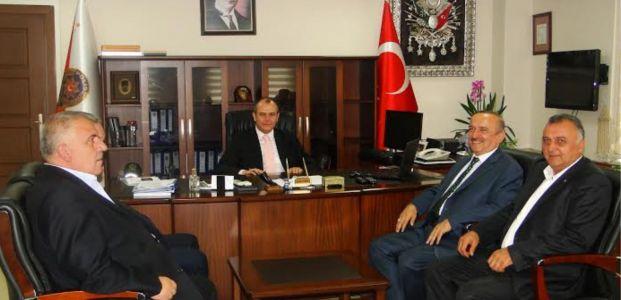 KTO' ndan Körfez İlçe Emniyet Müdürü Aydın'a Ziyaret