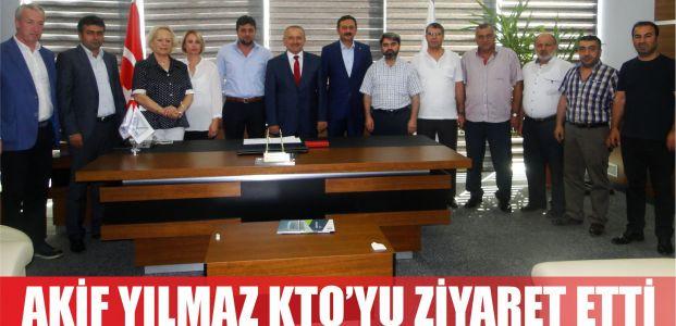Mehmet Akif Yılmaz'dan Körfez Ticaret Odası'na Ziyaret