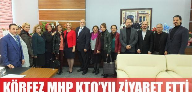 MHP Körfez'den Moralı'ya ziyaret