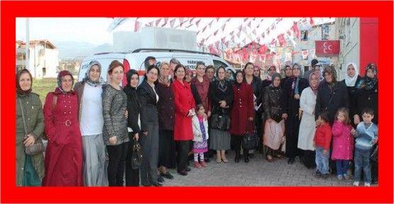 """MHP li Bayhan: """"Önceliğimiz kadınlarımız"""""""