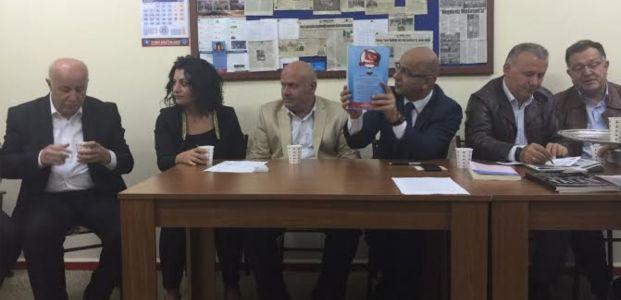 MHP'den Türk Eğitim-Sen'e ziyaret