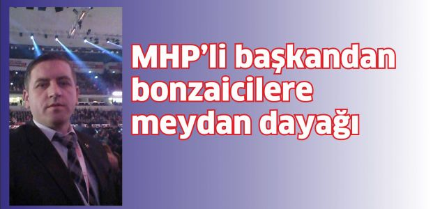 MHP'li Başkan bonzai satıcılarını dövdü
